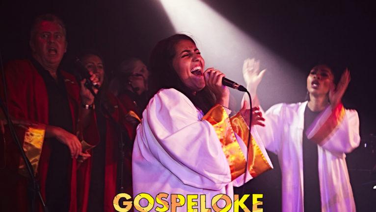 Gospeloke - Karaoke with a joyous, full backed gospel choir!